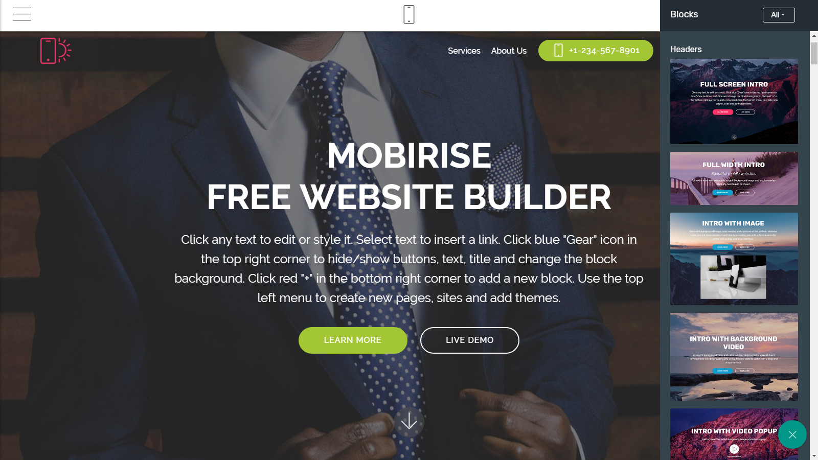 mobile website maker